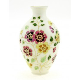 Small Zsolnay Butterfly Decor Vase