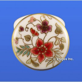 Zsolnay Hand Painted Small Covered Dish