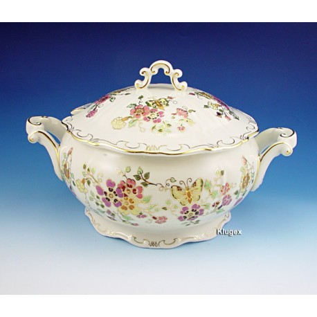 Zsolnay Butterfly Decor Soup Tureen
