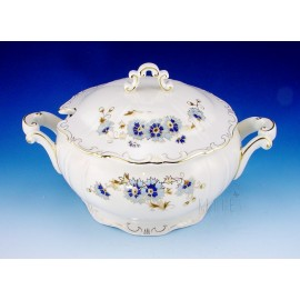 Zsolnay Cornflower Decor Soup Tureen