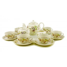 Zsolnay Spring Decor Tea Set