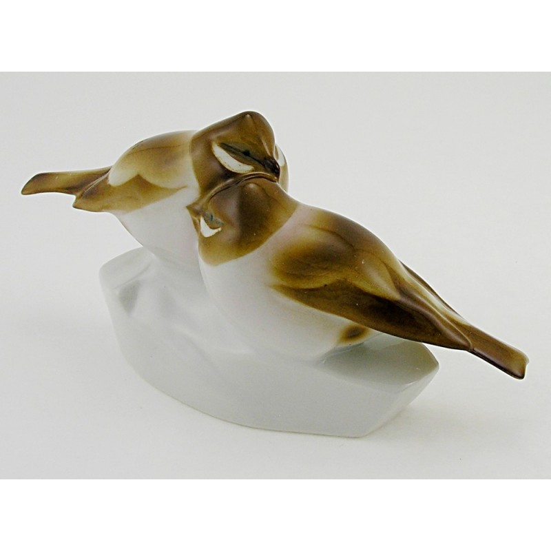 Vintage Zsolnay Bird Figurine Zsolnay Shop Usa