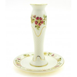 Zsolnay Butterfly Decor Candlestick
