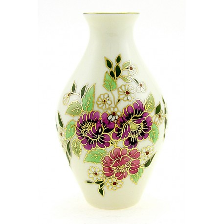 Small Zsolnay Natural Color Vase