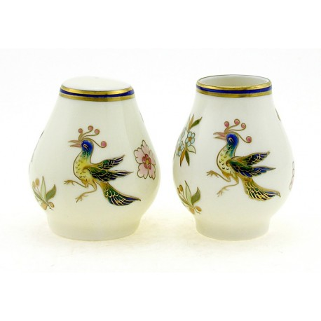 Zsolnay Phoenix Decor Spice and Toothpick Holder Set