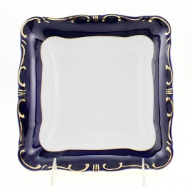 Zsolnay Pompadour-3 Decor Square Serving Bowl