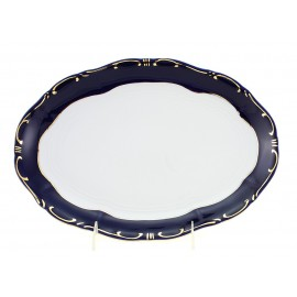 Zsolnay Pompadour-3 Decor Oval Serving Platter