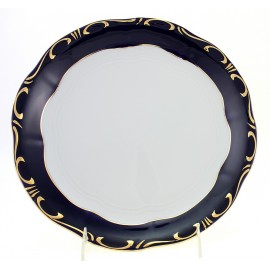 Zsolnay Pompadour-3 Decor Round Serving Platter