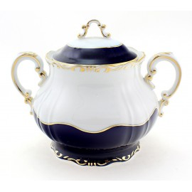 Zsolnay Pompadour-3 Decor Sugar Pot for Tea Serving