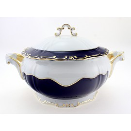 Zsolnay Pompadour-3 Decor Soup Tureen