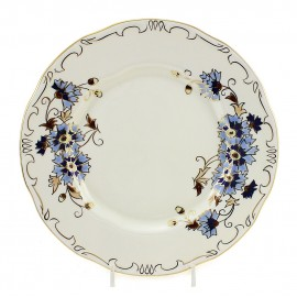 Zsolnay Cornflower Decor Dessert Plate