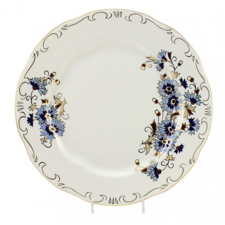 Zsolnay Cornflower Decor Dinner Plate