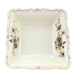 Zsolnay Cornflower Decor Square Serving Bowl