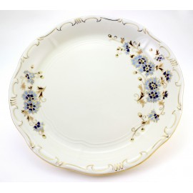 Zsolnay Cornflower Decor Round Serving Platter