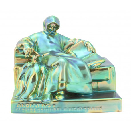 Zsolnay Iridescent Eosin Anonymous Figurine