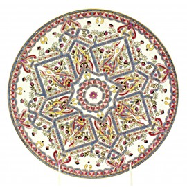 Zsolnay Persian Decor Porcelain Wall Plate