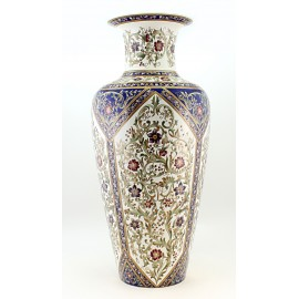 Unique Zsolnay Porcelain Floor Vase Venusz