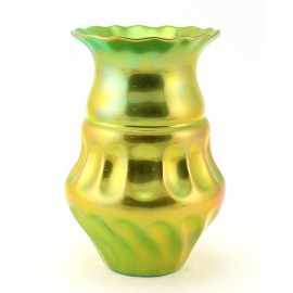 Zsolnay Iridescent Eosin Vase Unique