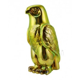 Zsolnay Iridescent Eosin Falcon Bird Figurine