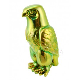 Zsolnay Eosin Falcon Bird Figurine