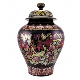 Huge Zsolnay Multicolor Eosin Urn
